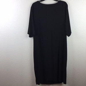 Dress Barn Dresses - Dress Barn Signature Sadie Black Stretch Dress 22W